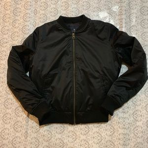 NWOT AEO Black Jacket. Sz S